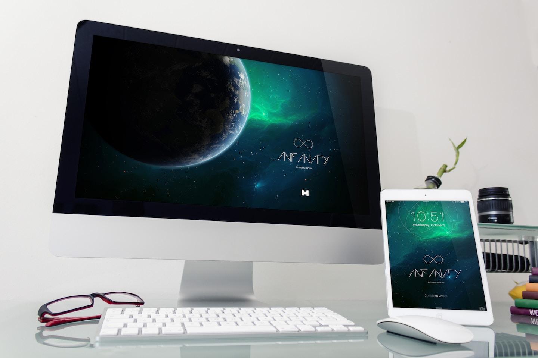 Desktop Device Mockup 4
