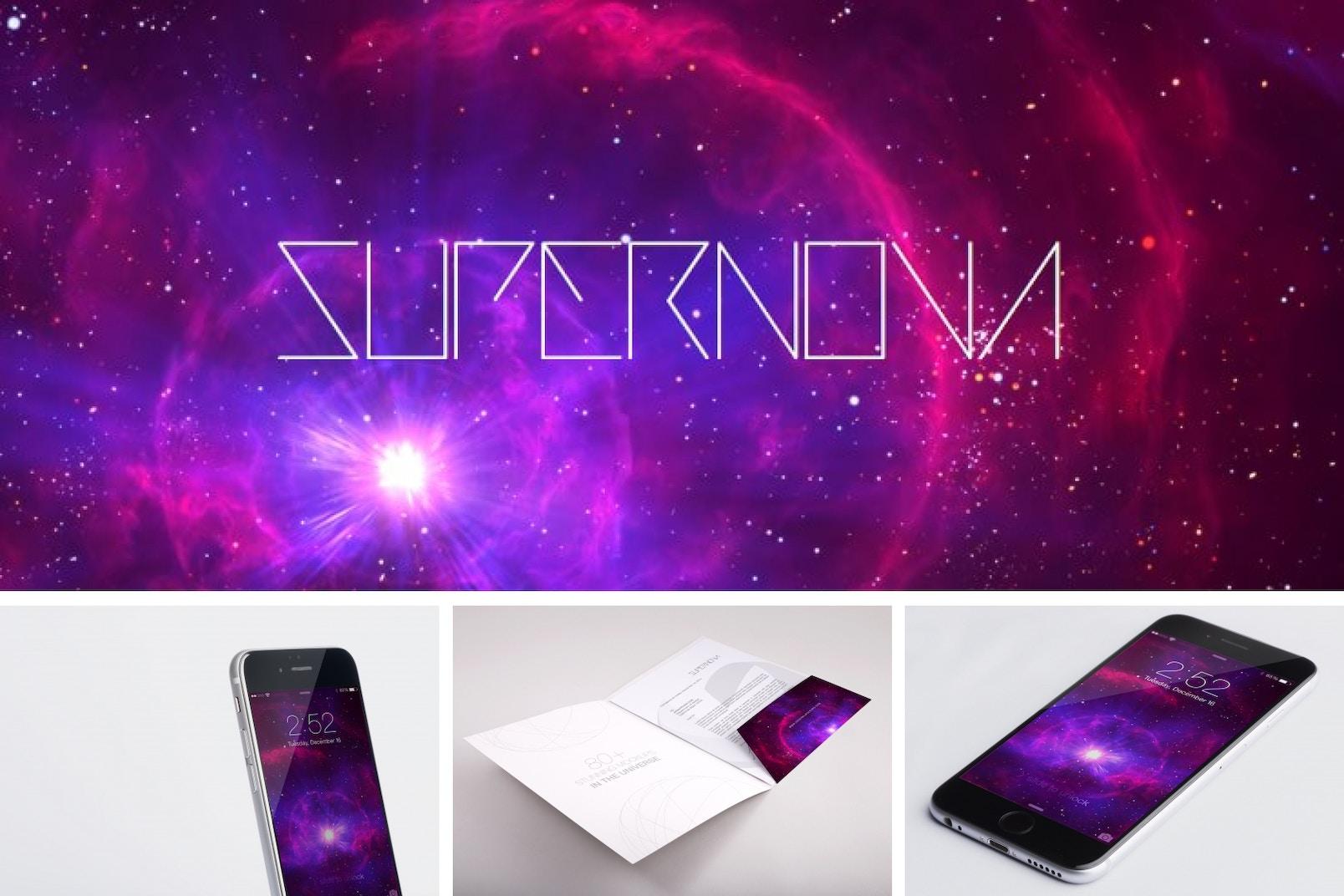 Supernova Mockup Bundle Poster