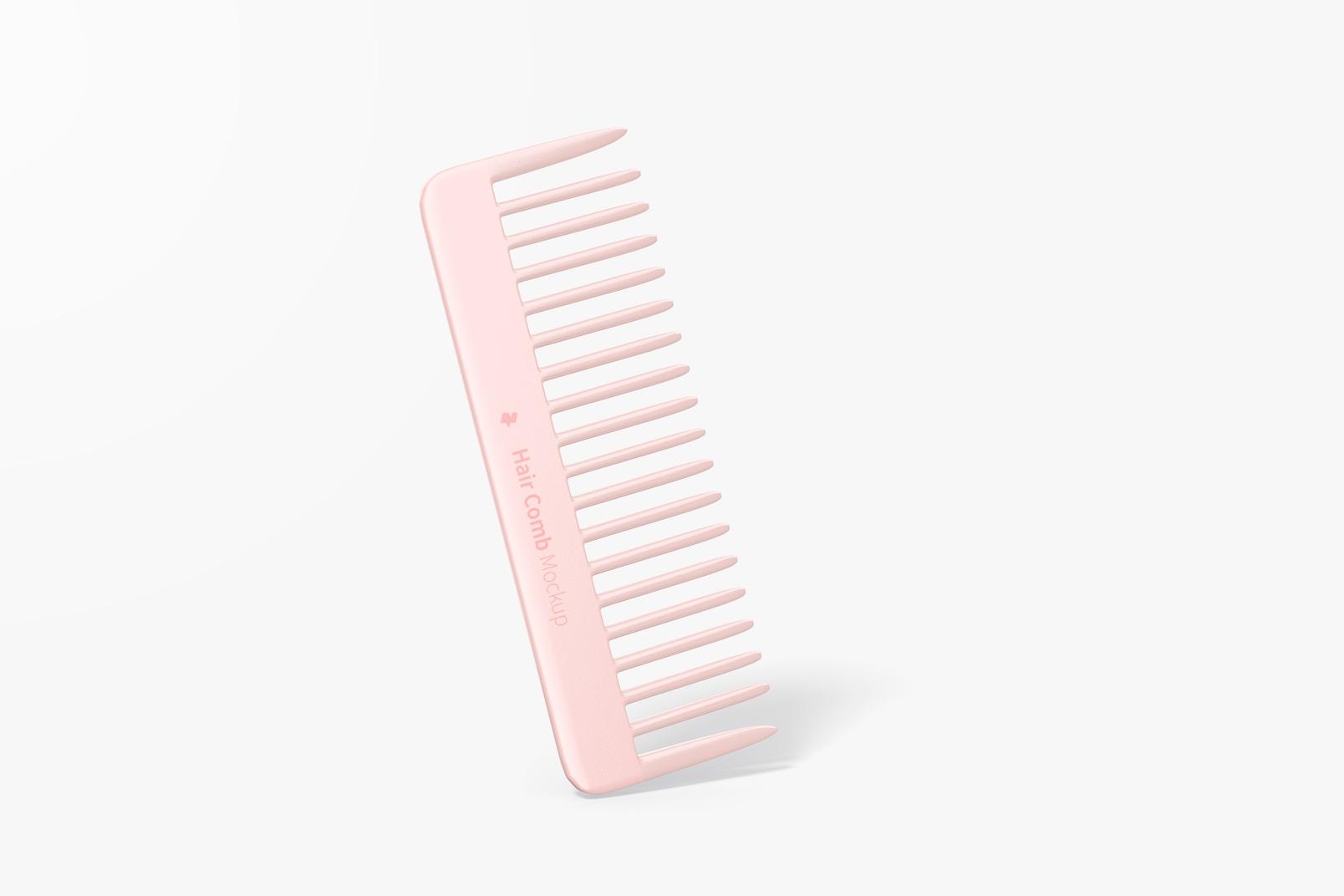 Hair Comb Mockup