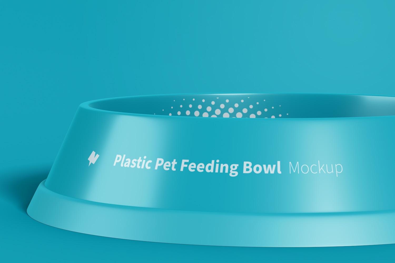 Maqueta de Tazón Plástico para Mascota