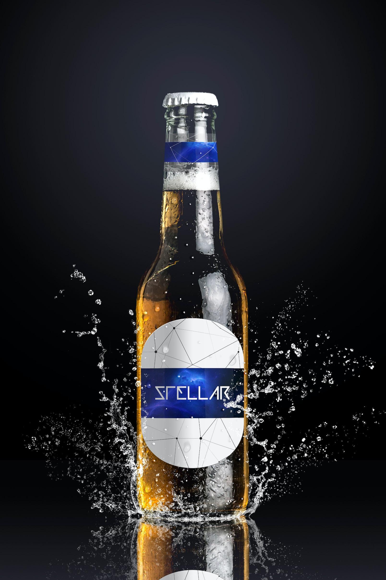 Beer Bottle Mockup 01