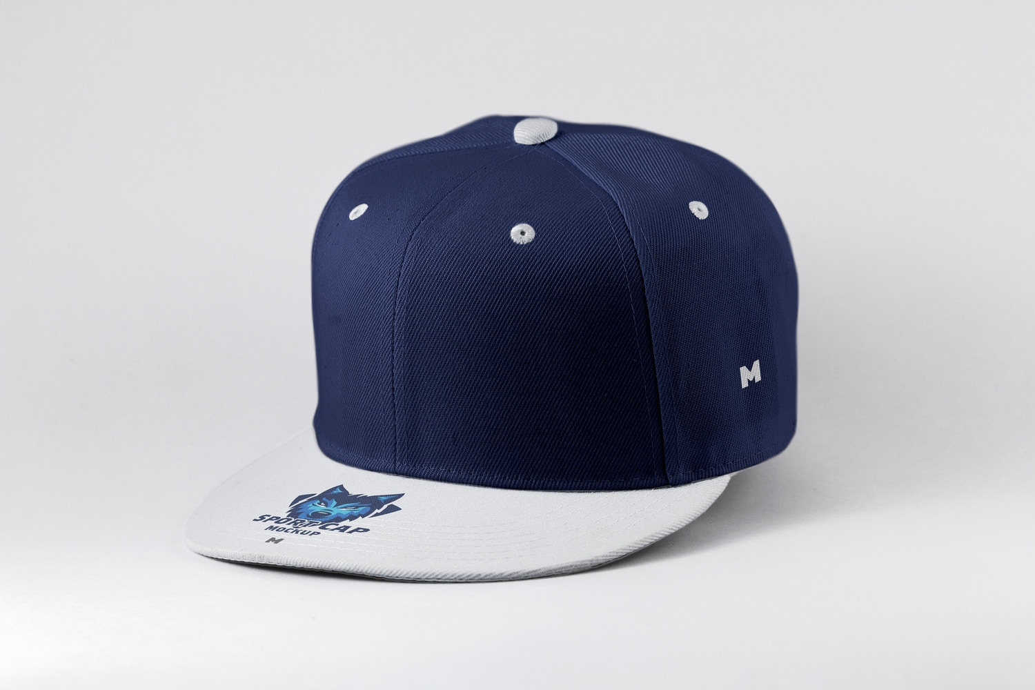 Sports Cap Semi Front View Mockup 01
