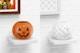 Ceramic Halloween Pumpkin Mockup, on Shelf