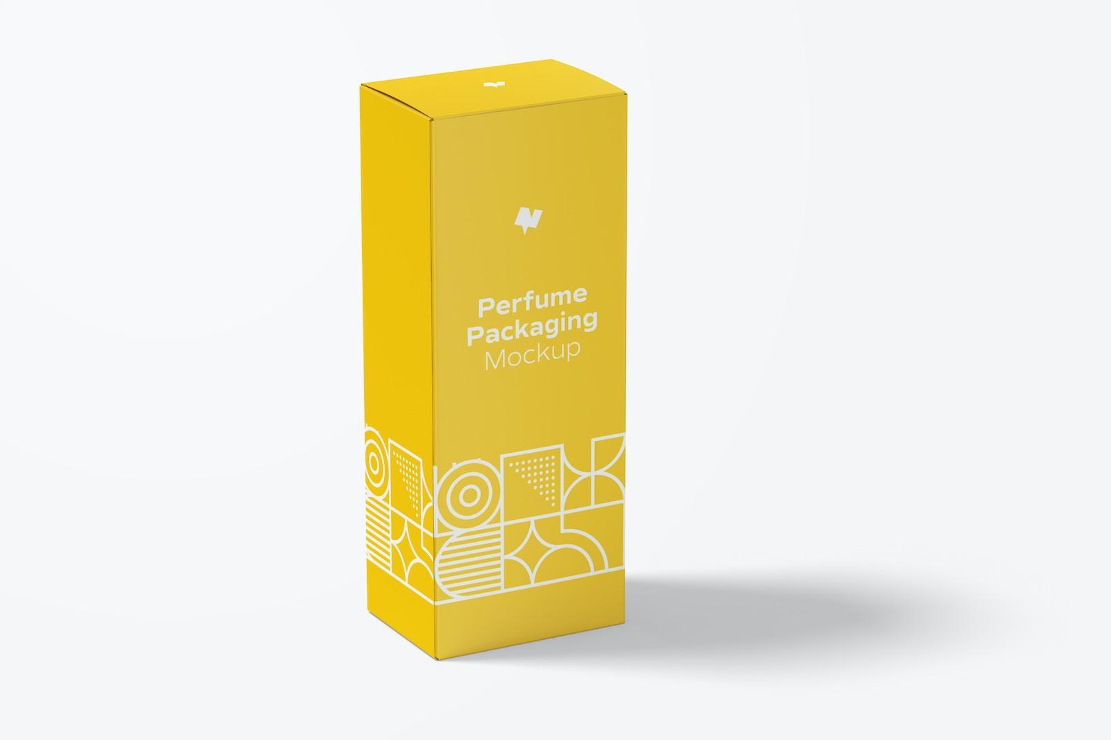 Large Perfume Packaging Mockup