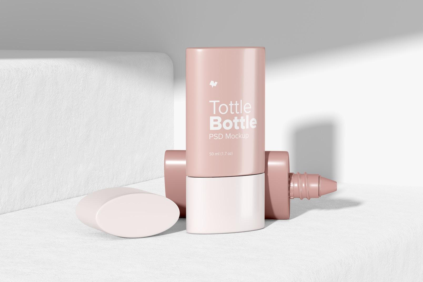 Tottle Bottles Mockup