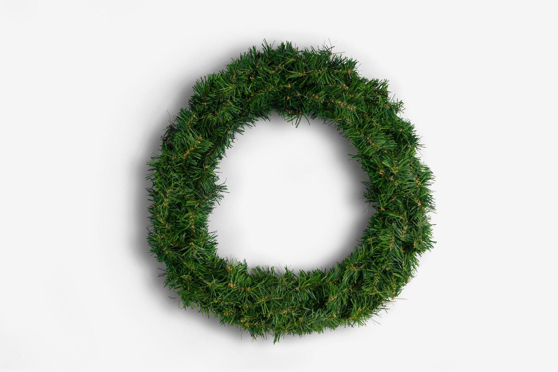 Christmas Wreath Isolate - Single
