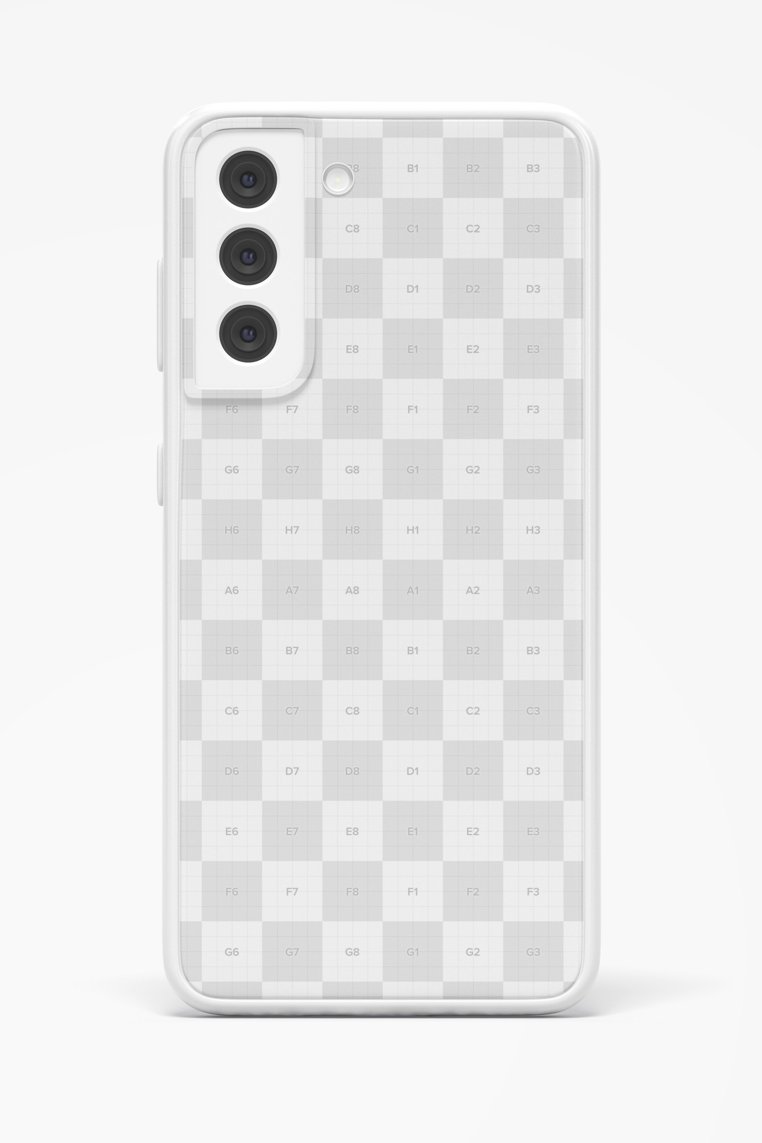 Samsung S21 Case Mockup, Front View