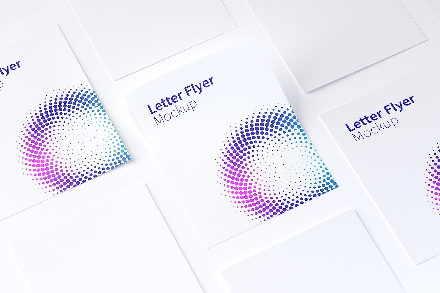 Letter Flyer Mockup 02 by Original Mockups on Original Mockups