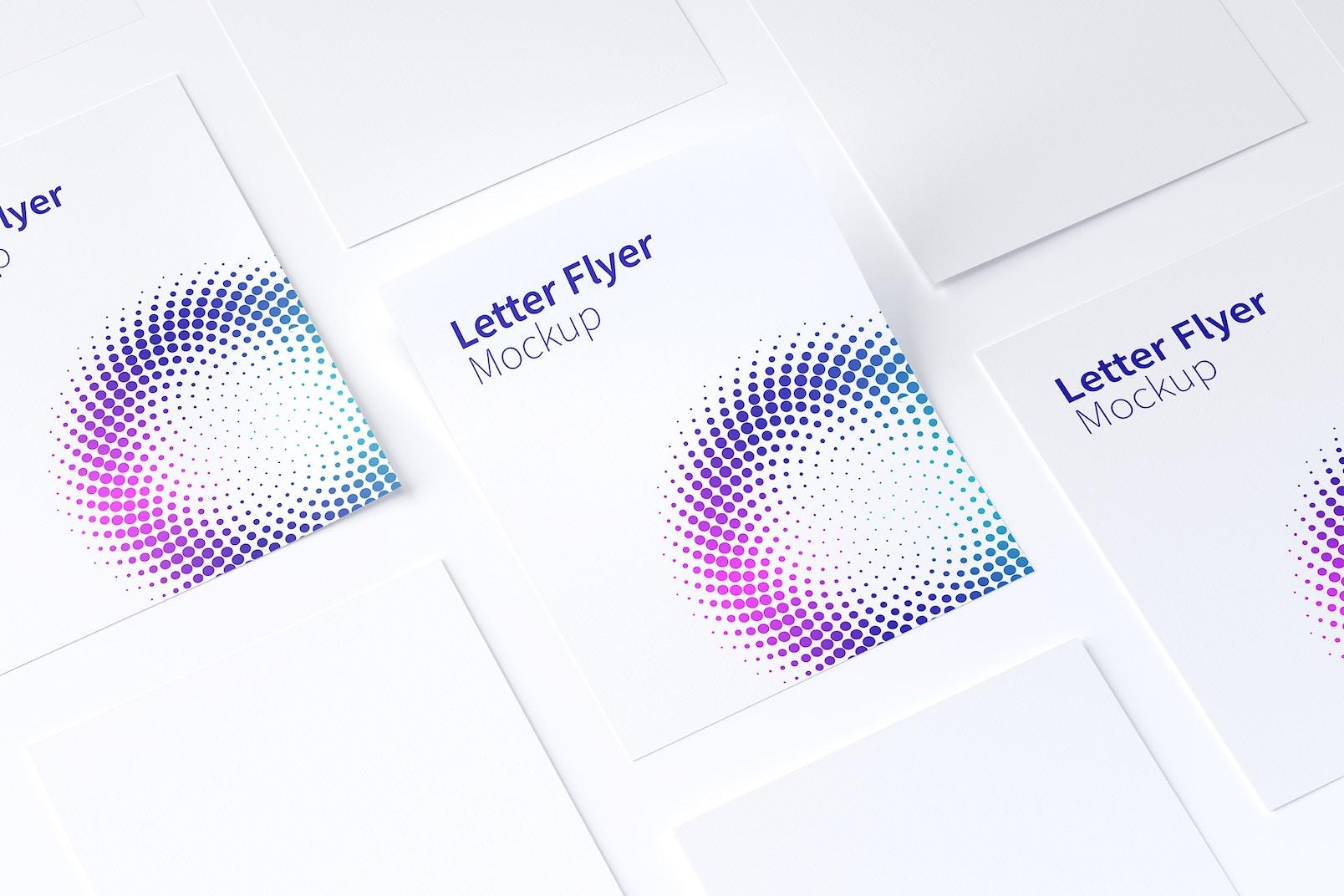 Letter Flyer Mockup 02