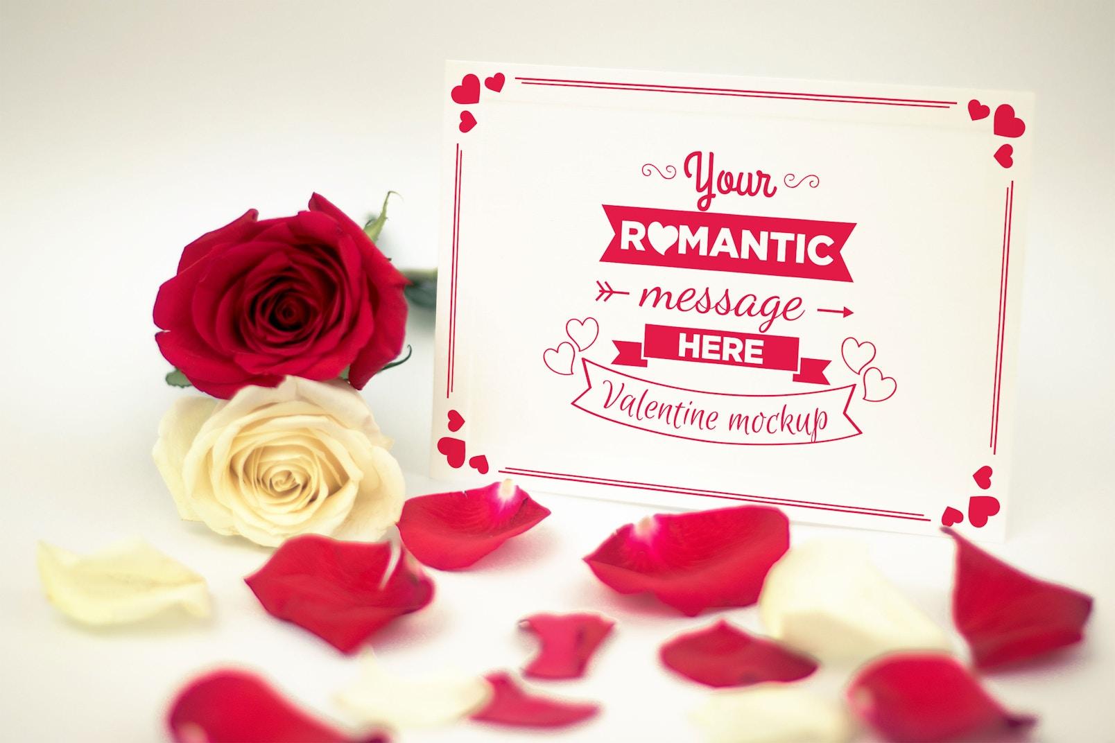 Valentine Card Mockup 05