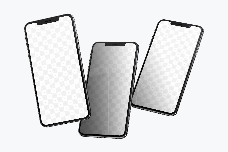 iPhone XS Max Mockup 06 (2) by Original Mockups on Original Mockups