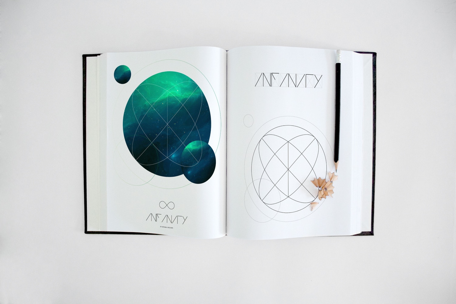 Art Book Mockup 4 by Original Mockups on Original Mockups