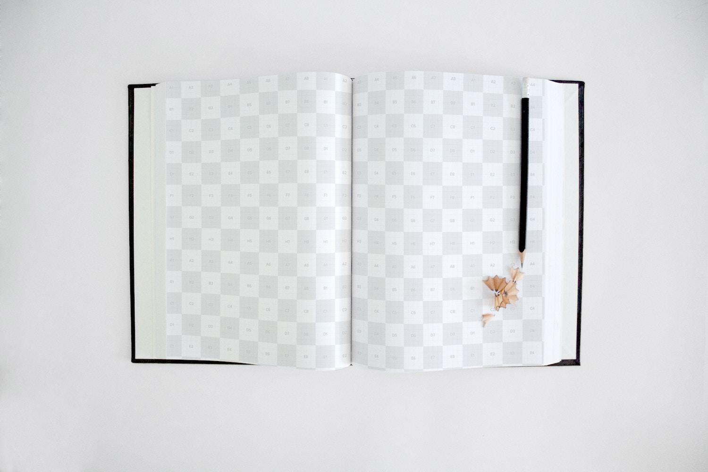 Art Book Mockup 4