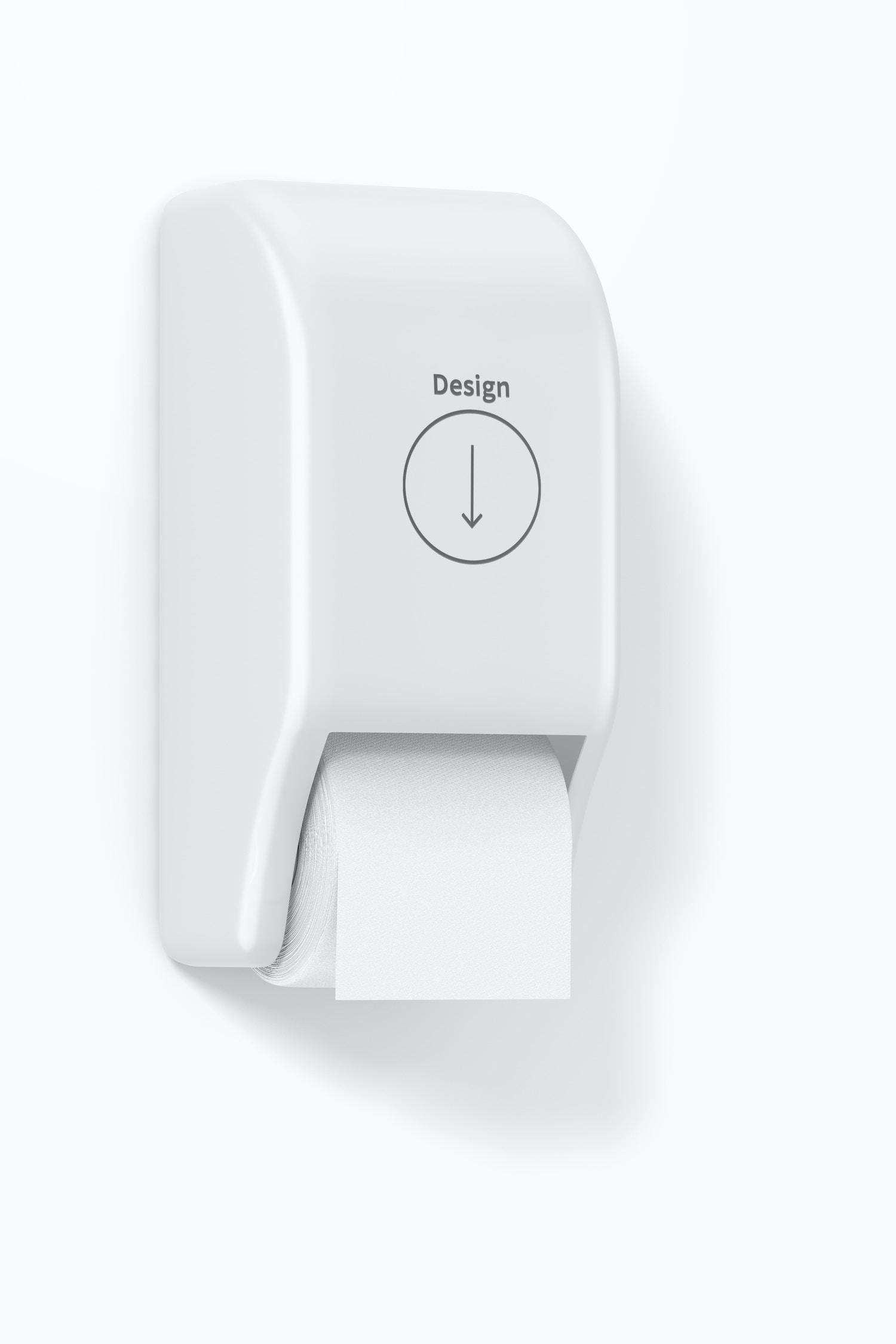 Toilet Paper Holder Mockup
