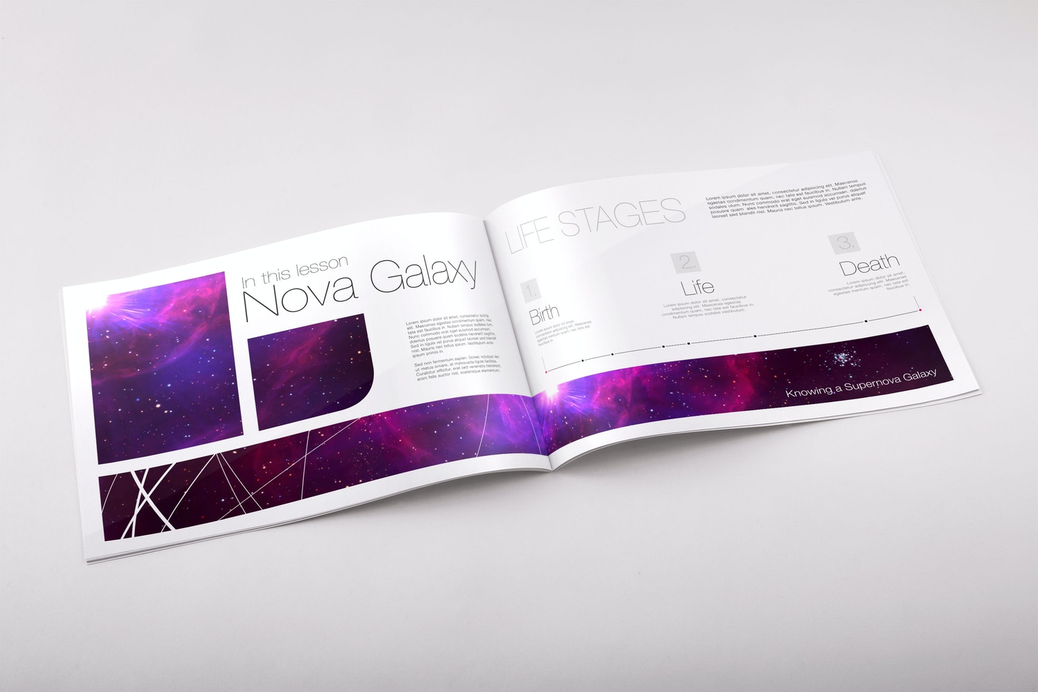 Softcover Landscape Catalog PSD Mockup 02 by Original Mockups on Original Mockups
