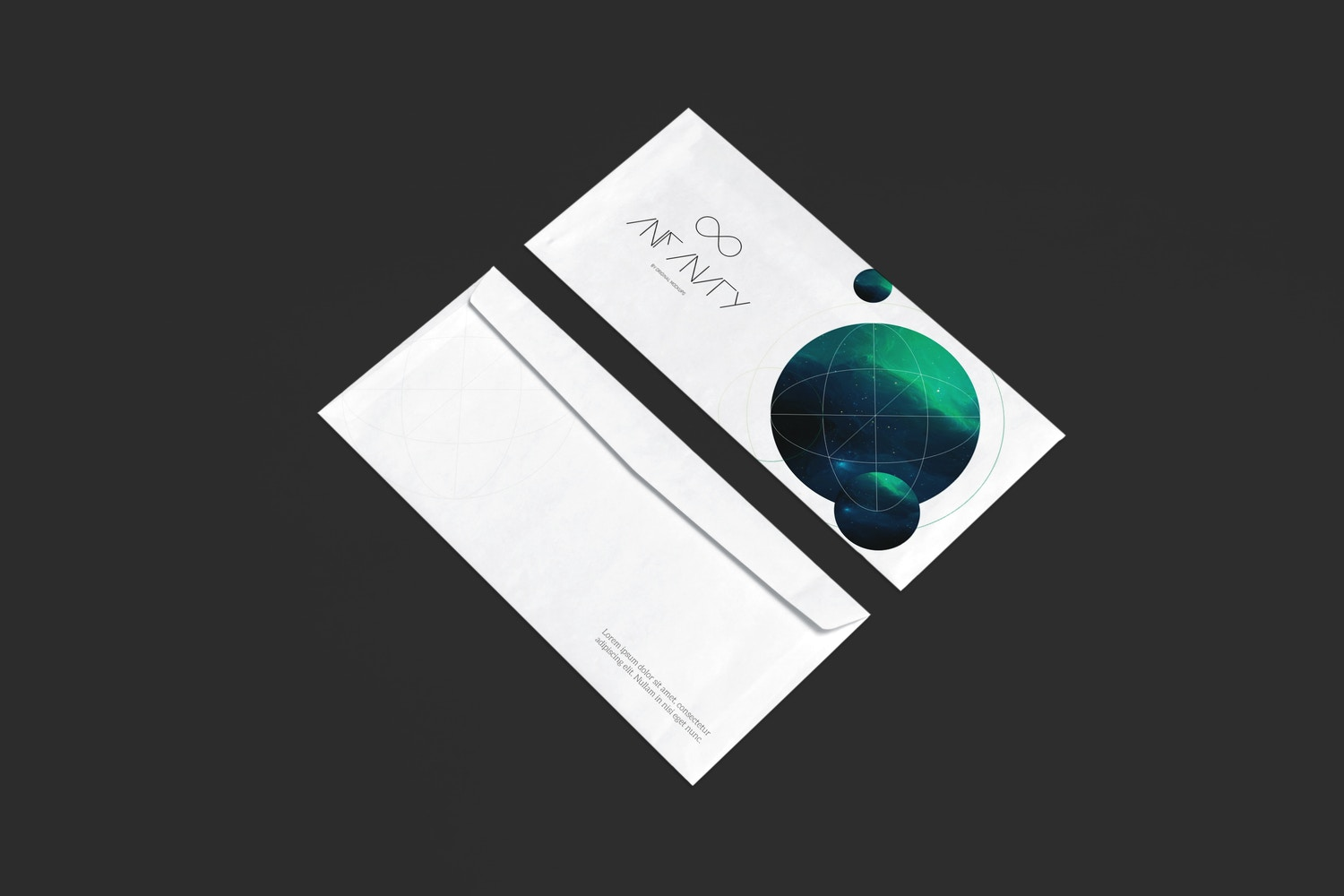 Envelope Mockup 1 by Original Mockups on Original Mockups