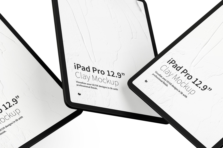 """Maqueta de iPad Pro 12.9"""" Multicolor, Flotando (3) por Original Mockups en Original Mockups"""