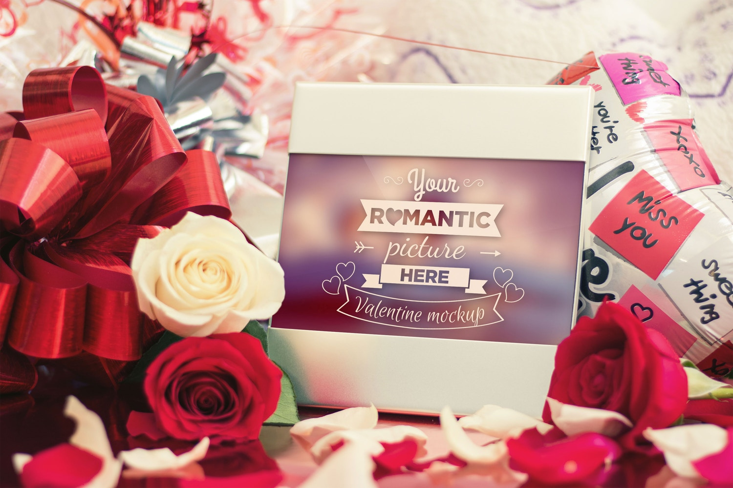 Valentine Picture Portrait Mockup 01 by Eru  on Original Mockups