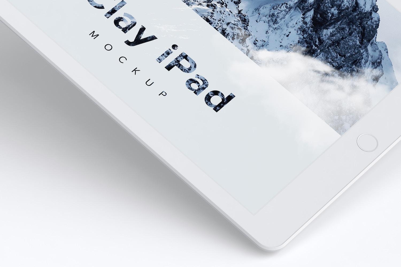 Clay iPad 9.7 Mockup