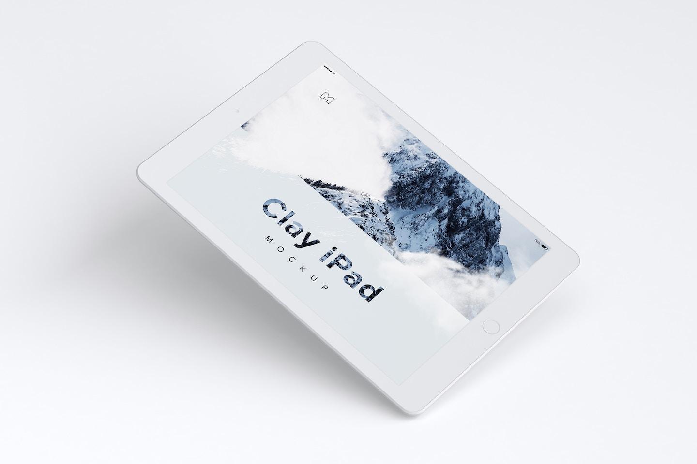 Clay iPad 9.7 Mockup 01