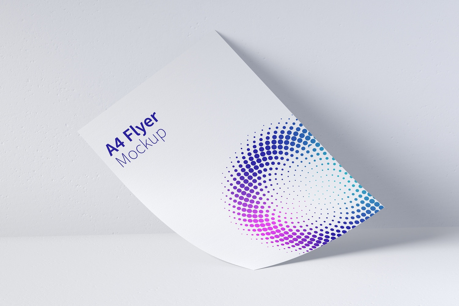 A4 Flyer Mockup 01 by Original Mockups on Original Mockups