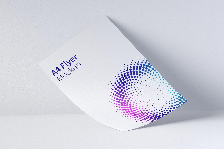 A4 Flyer Mockup 01