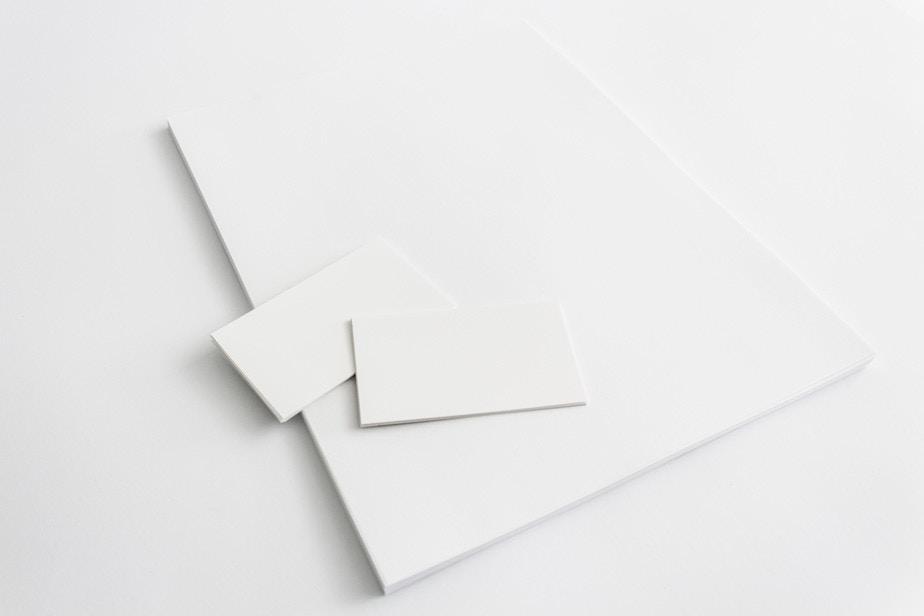 Step 6 Making Business Cards Mockup