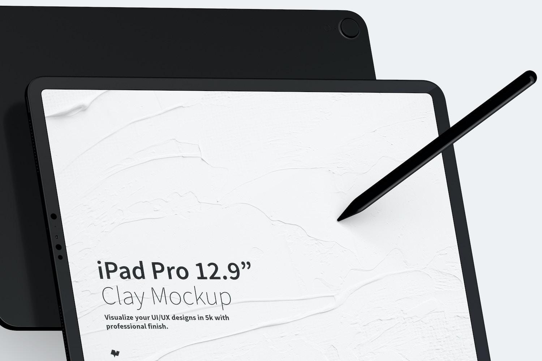 Maqueta de iPad Pro 12.9 Multicolor, Vista Frontal y Trasera Horizontal (3) por Original Mockups en Original Mockups