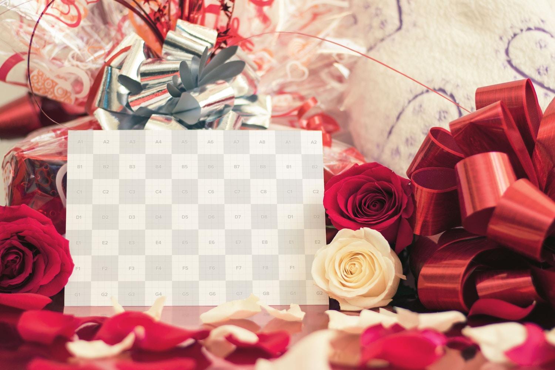 Valentine Card Mockup 02 UV - Original Mockups