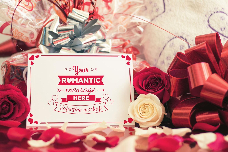 Valentine Card Mockup 02