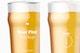 19 oz Beer Nonic Pint Glass Mockup, Close Up