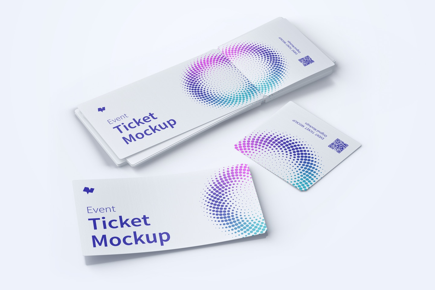 Event Tickets Mockup 03