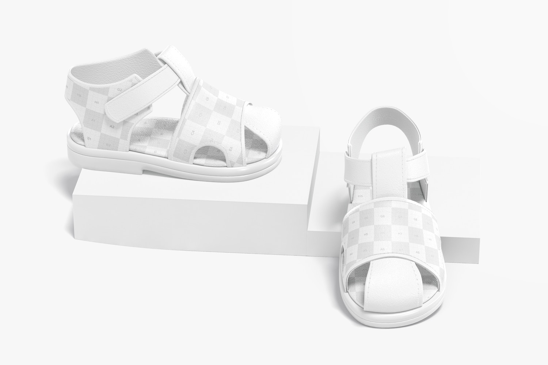 Baby Shoes Mockup