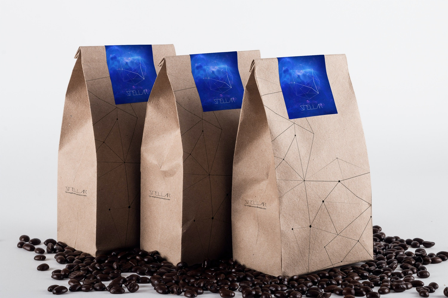 Coffee Bag Mockup 01 by Original Mockups on Original Mockups