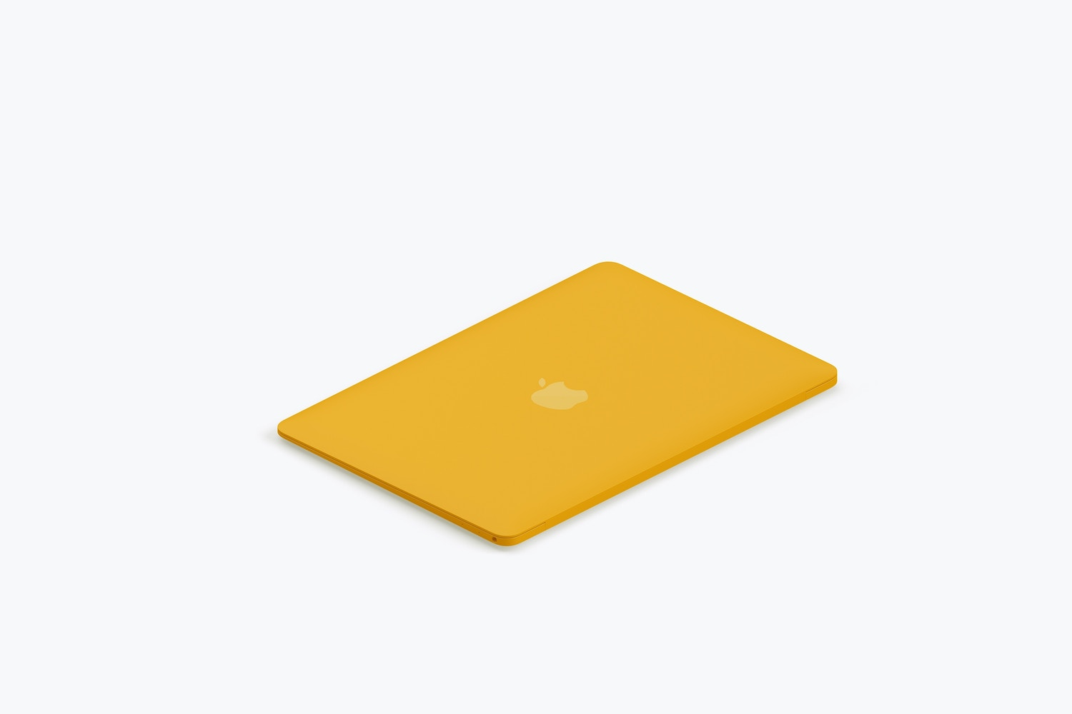Clay MacBook Mockup, Isometric Left View 03 (4) by Original Mockups on Original Mockups