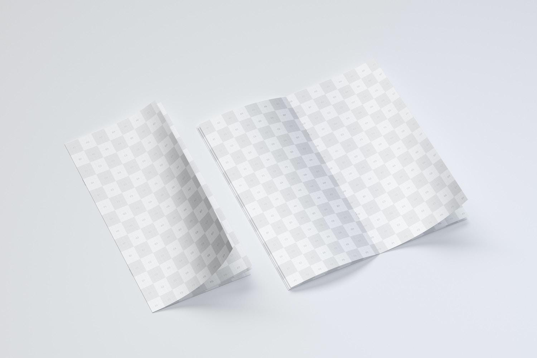 Thin Booklet Mockup 04 (2) by Original Mockups on Original Mockups