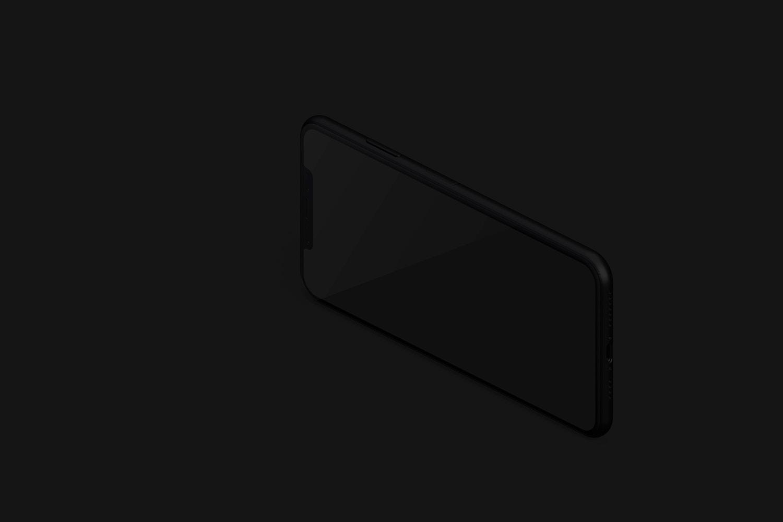 Maqueta de iPhone XS Max, Vista Derecha 03 (3) por Original Mockups en Original Mockups
