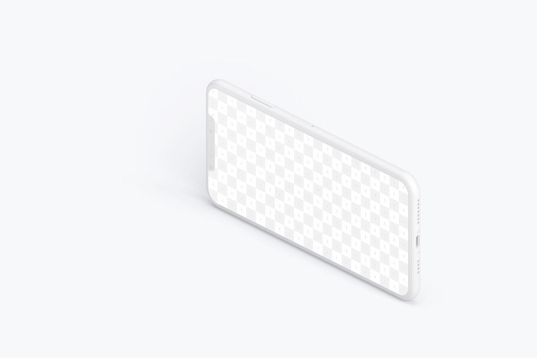Maqueta de iPhone XS Max, Vista Derecha 03 (2) por Original Mockups en Original Mockups