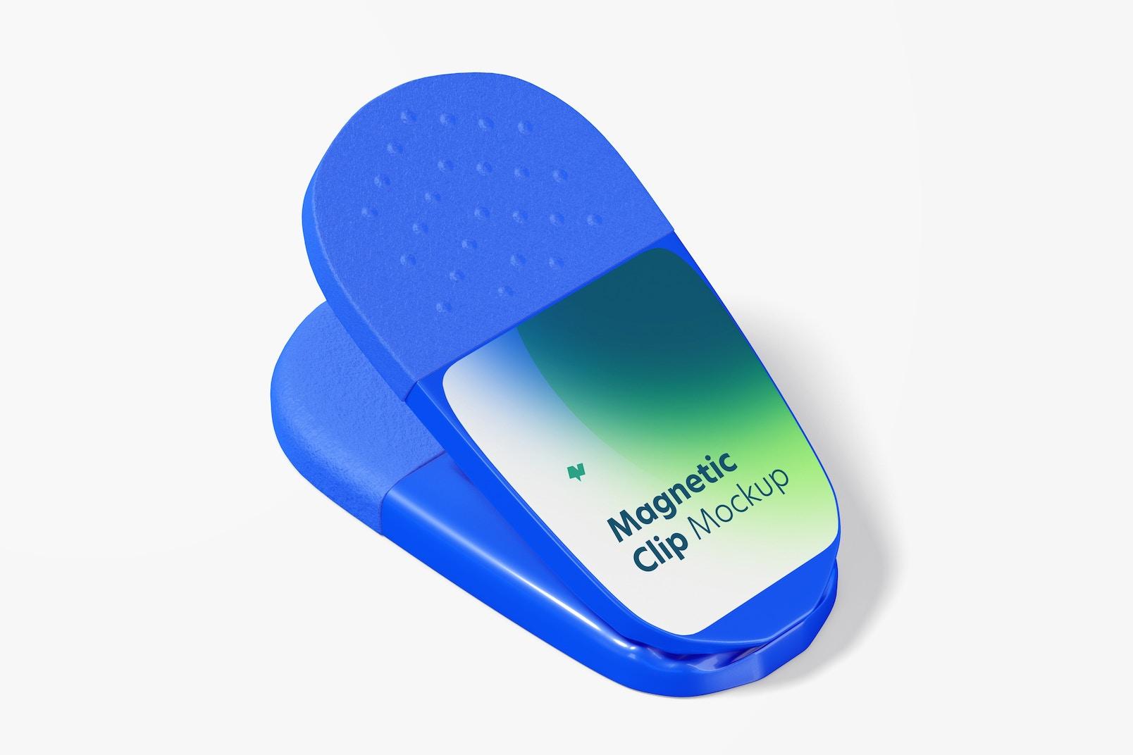 Maqueta de Clip Magnético Promocional