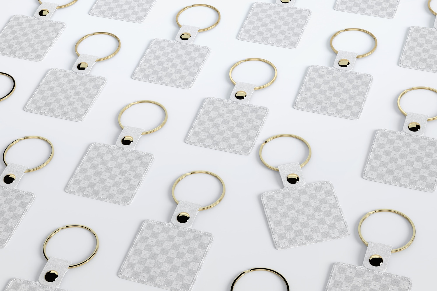 With this model, you can show the front and back view of your keychain designs.