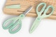Kitchen Scissors Mockup, Perspective View