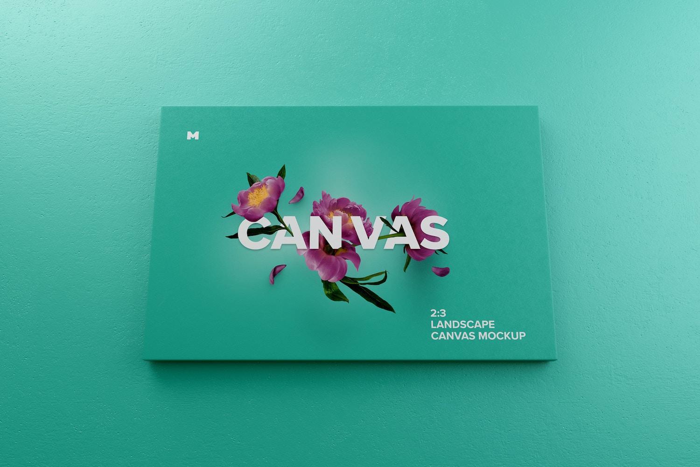 Vista llena de color con un buen contraste para tu obra de arte.