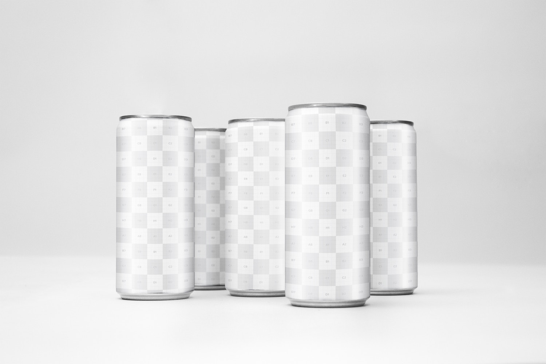 Sleek Cans Mockup 4