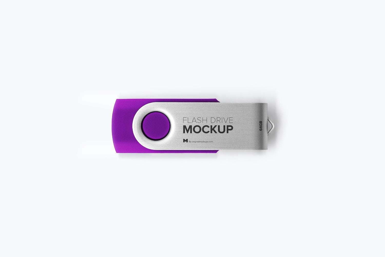 USB Flash Drive Mockup 02