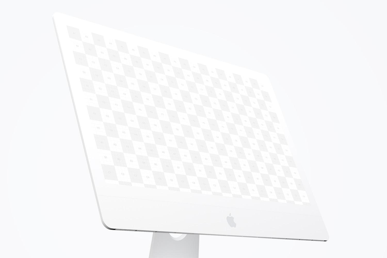 """Clay iMac 27"""" Mockup, Display Close Up (2) by Original Mockups on Original Mockups"""