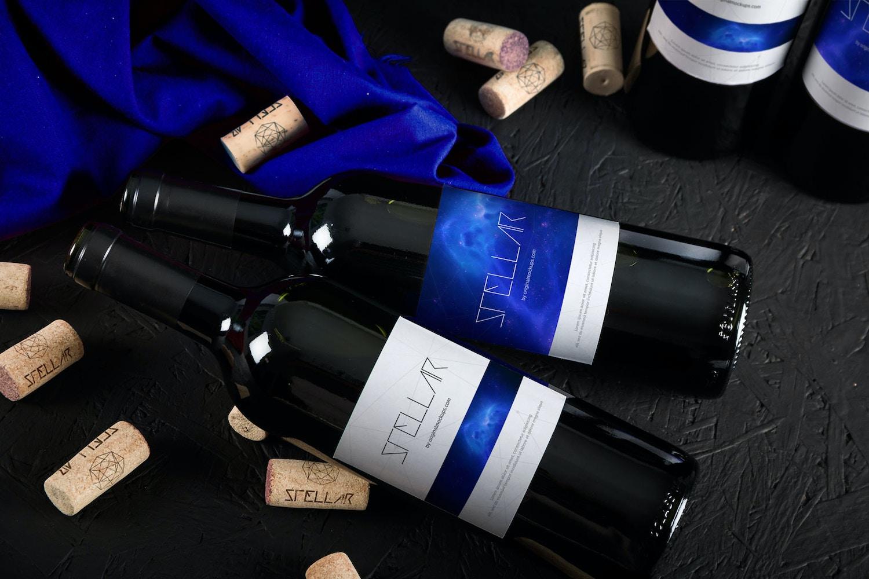 13 Wine Bottle Mockups