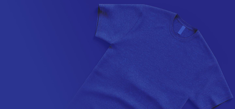 Men's Tri-Blend Short Sleeve Crew T-Shirt Mockups