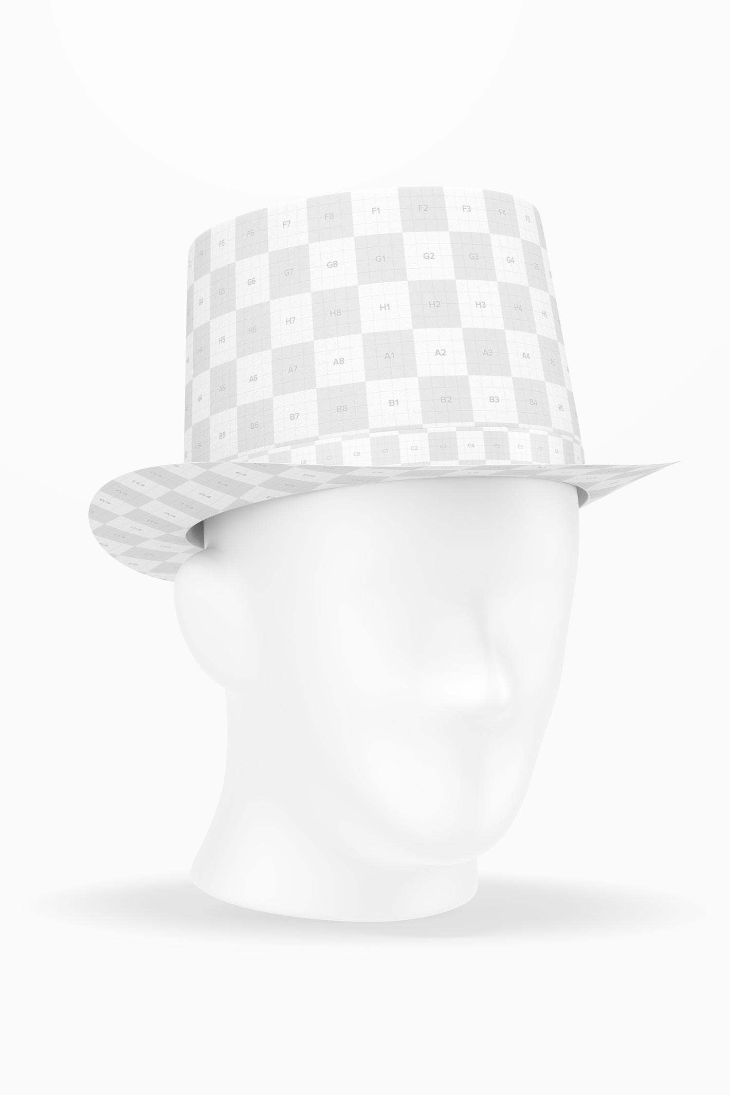 Carnival Hat Mockup