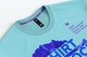 Men's Cotton T-Shirt with Label Mockup, Close-up
