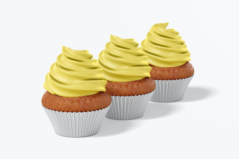 Fully customizable cupcakes.